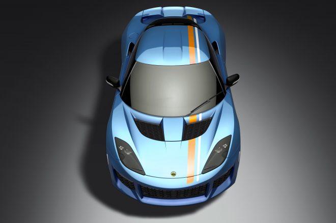 Lotus Evora 400 Blue Orange Edition 2