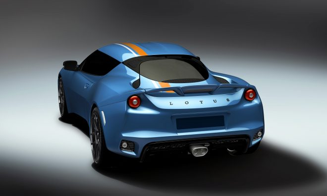 Lotus Evora 400 Blue Orange Edition 3