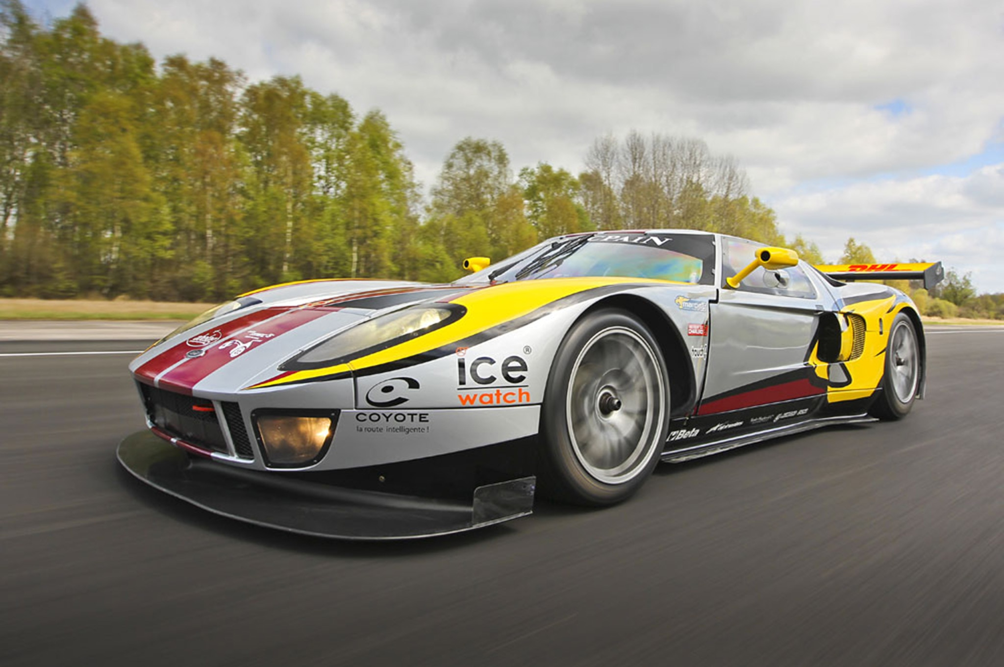 One-of-Four Matech Ford GT Race Cars Up for Sale on eBay ...