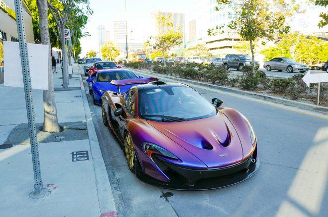 Pirelli World Los Angeles McLaren P1
