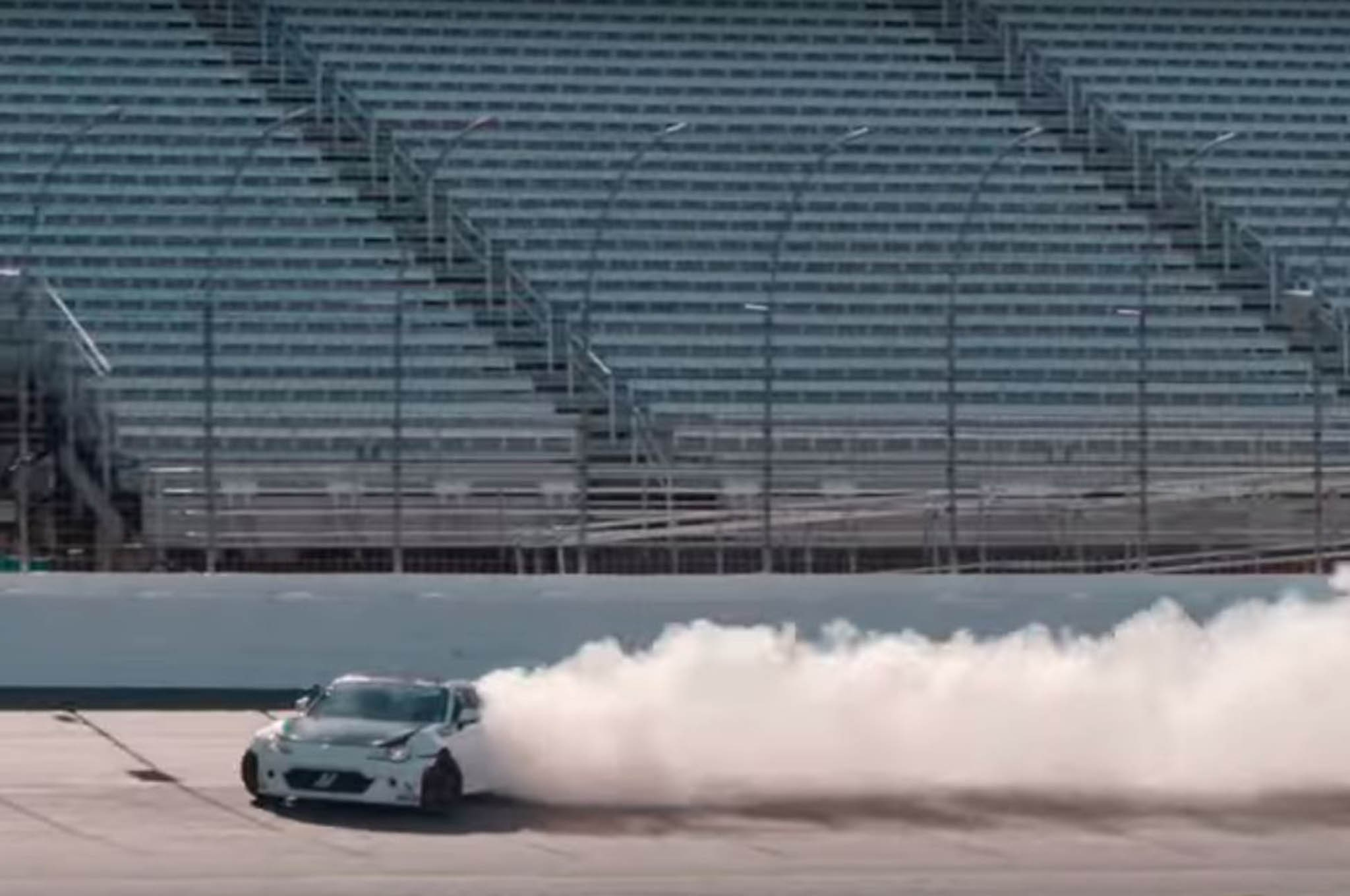 Ryan Tuerck Drifting New Hampshire Motor Speedway 1