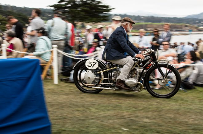 1925 BMW R37 Motorcycle Talbot Pebble Beach 5