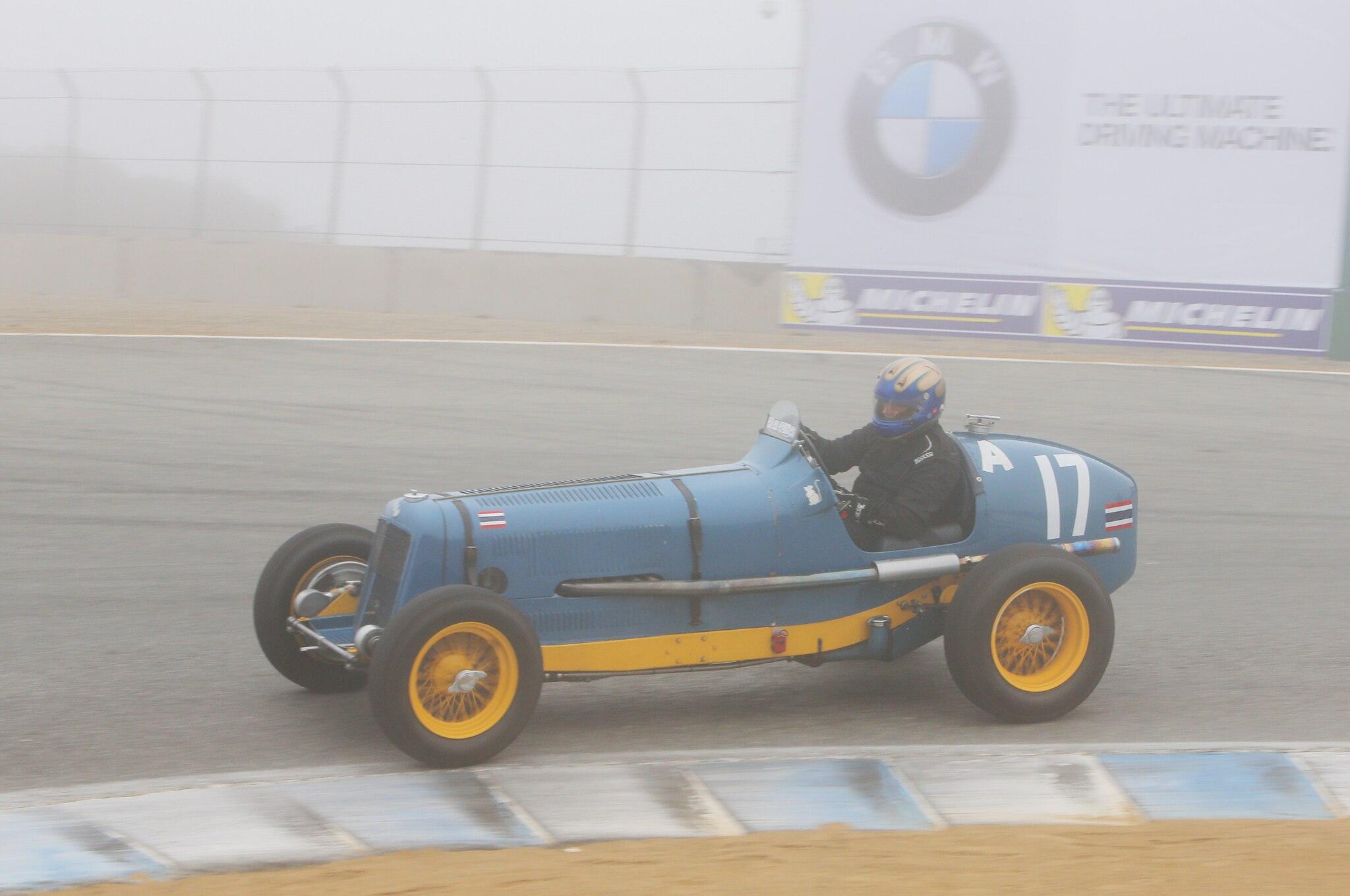 1935 ERA B 2016 Monterey Motorsports Reunion