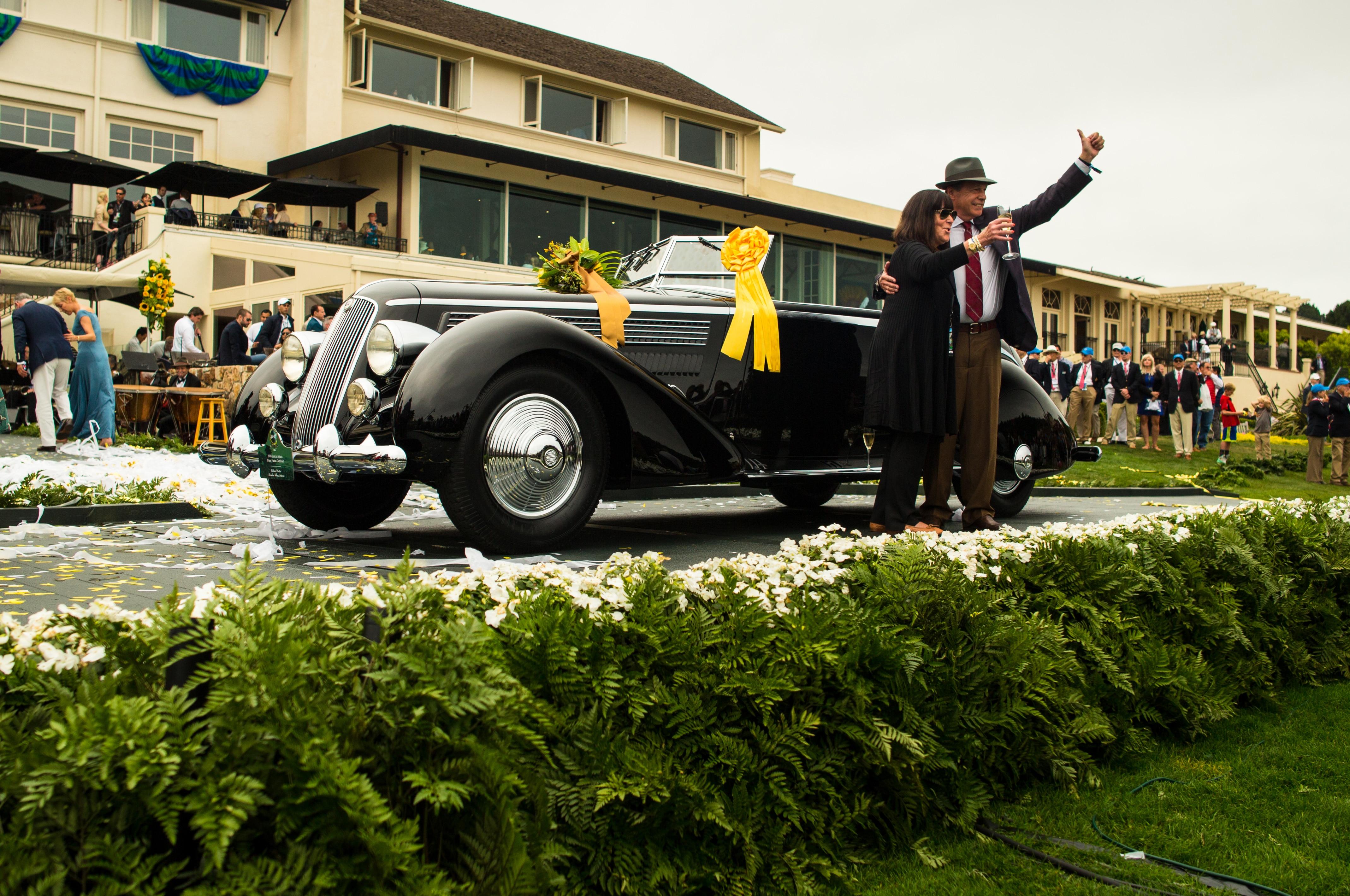 1936 Lancia Astura Pinin Farina Cabriolet Pebble Beach 2016 Best Of Show 1