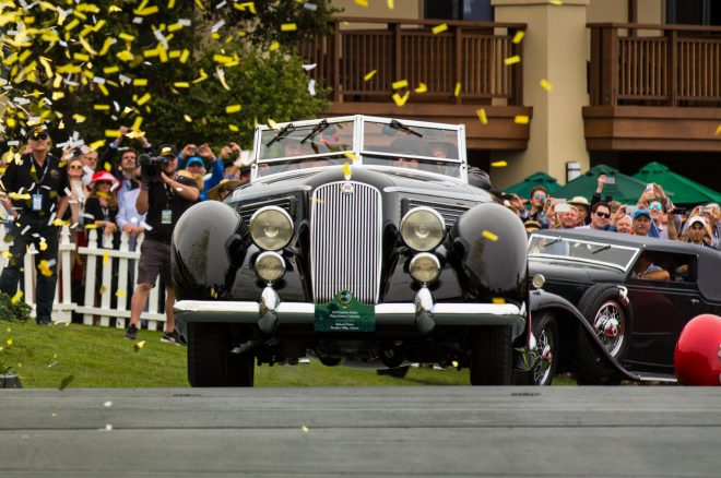 1936 Lancia Astura Pinin Farina Cabriolet Pebble Beach 2016 Best Of Show 2