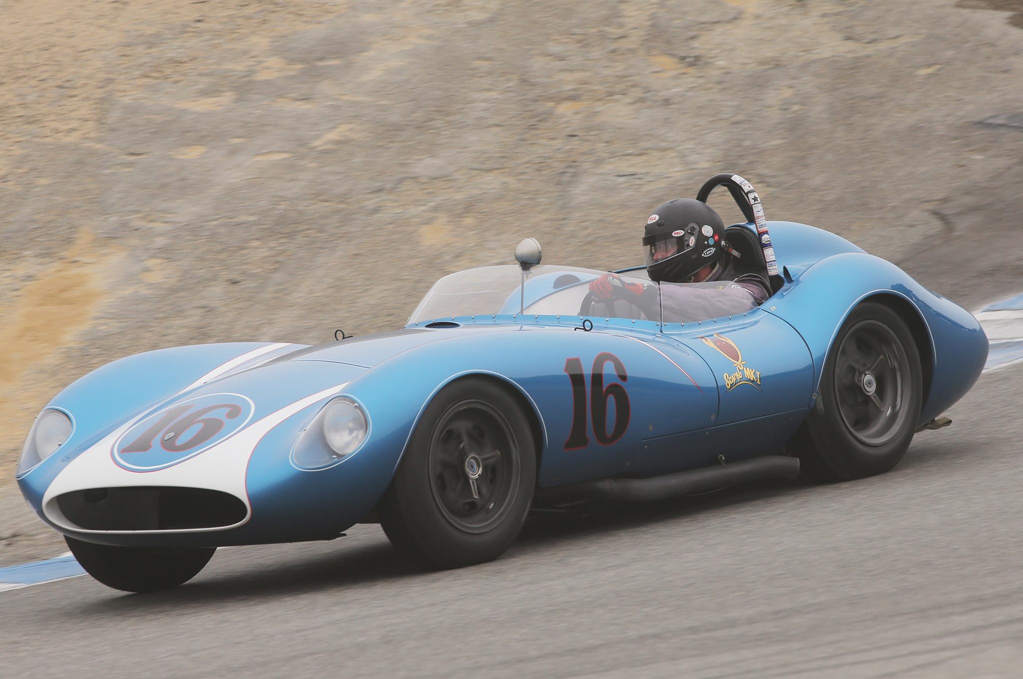 1958 Scarab Mk1 2016 Monterey Motorsports Reunion