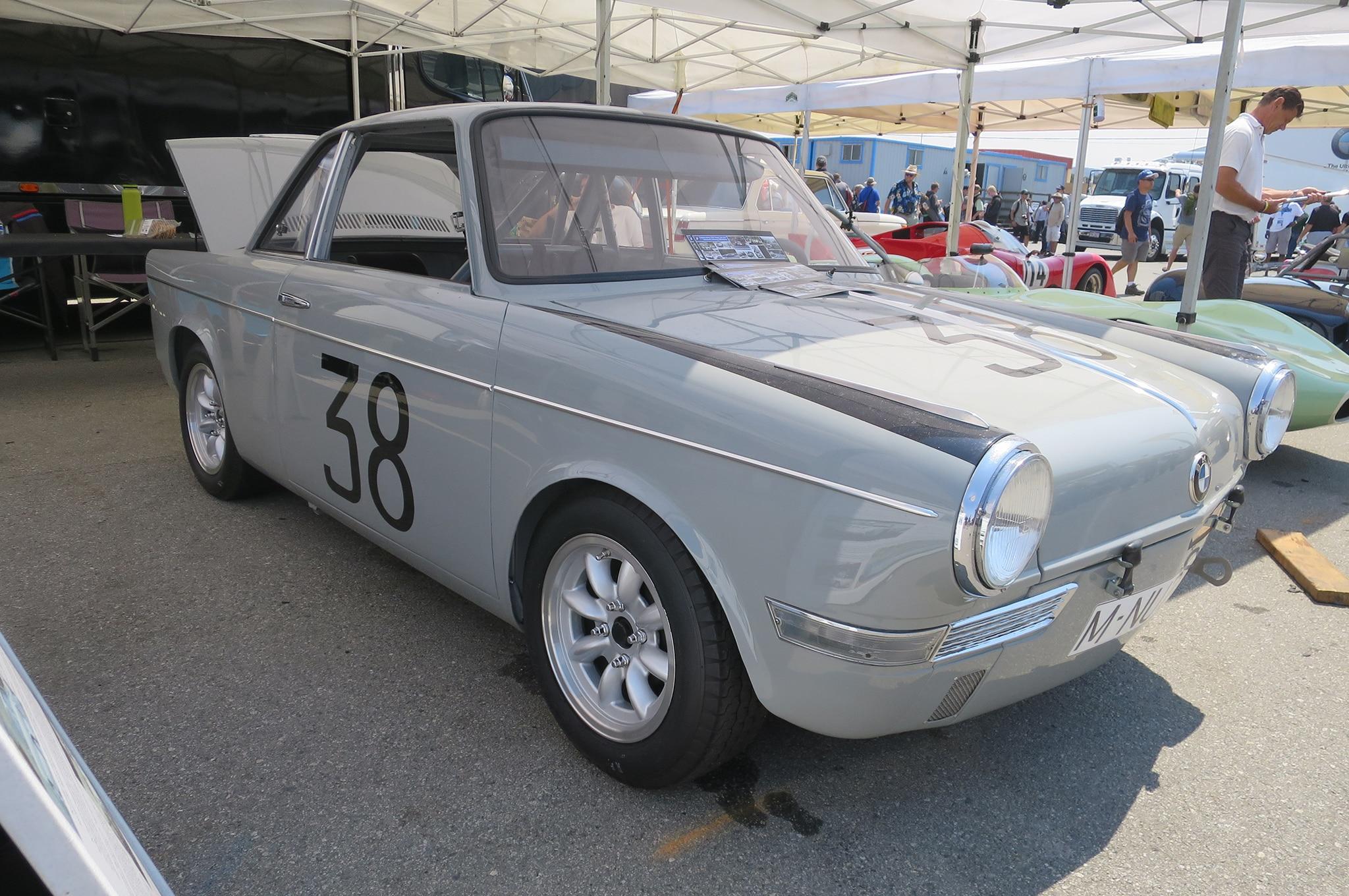 1961 BMW 700 Sport front three quarter