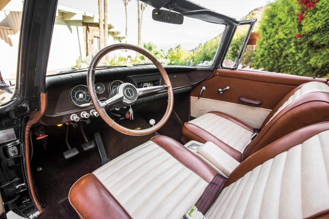 1962 Studebaker Lark Daytona Convertible cabin