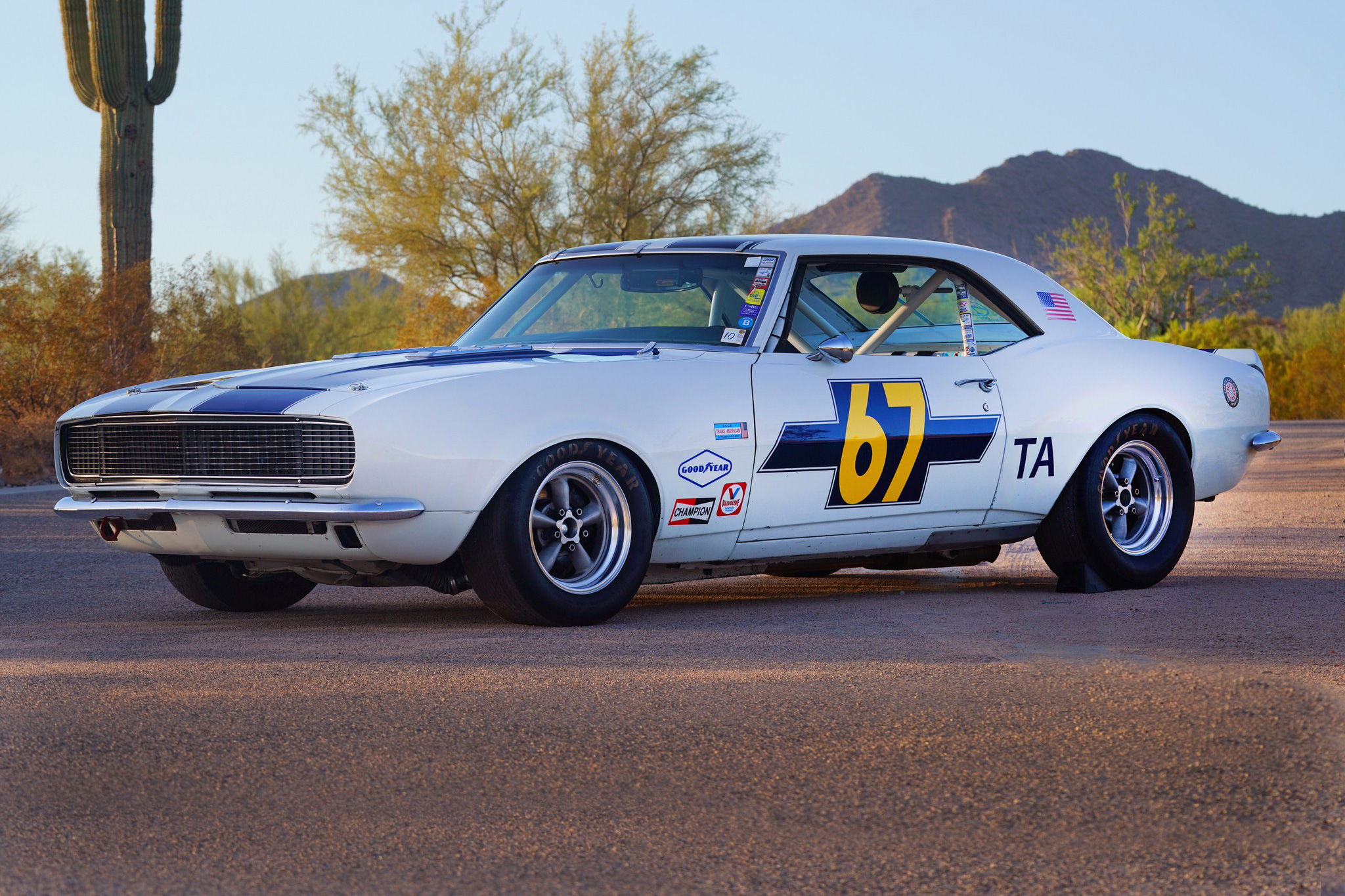 buy this trans am 1968 chevrolet camaro and race at mmr automobile magazine. Black Bedroom Furniture Sets. Home Design Ideas