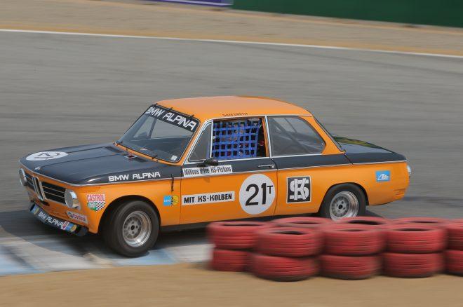 1969 BMW 2002 2016 Monterey Motorsports Reunion