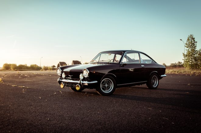 This 1969 Fiat 850 Sport is Possibly the Coolest First Car We've Seen
