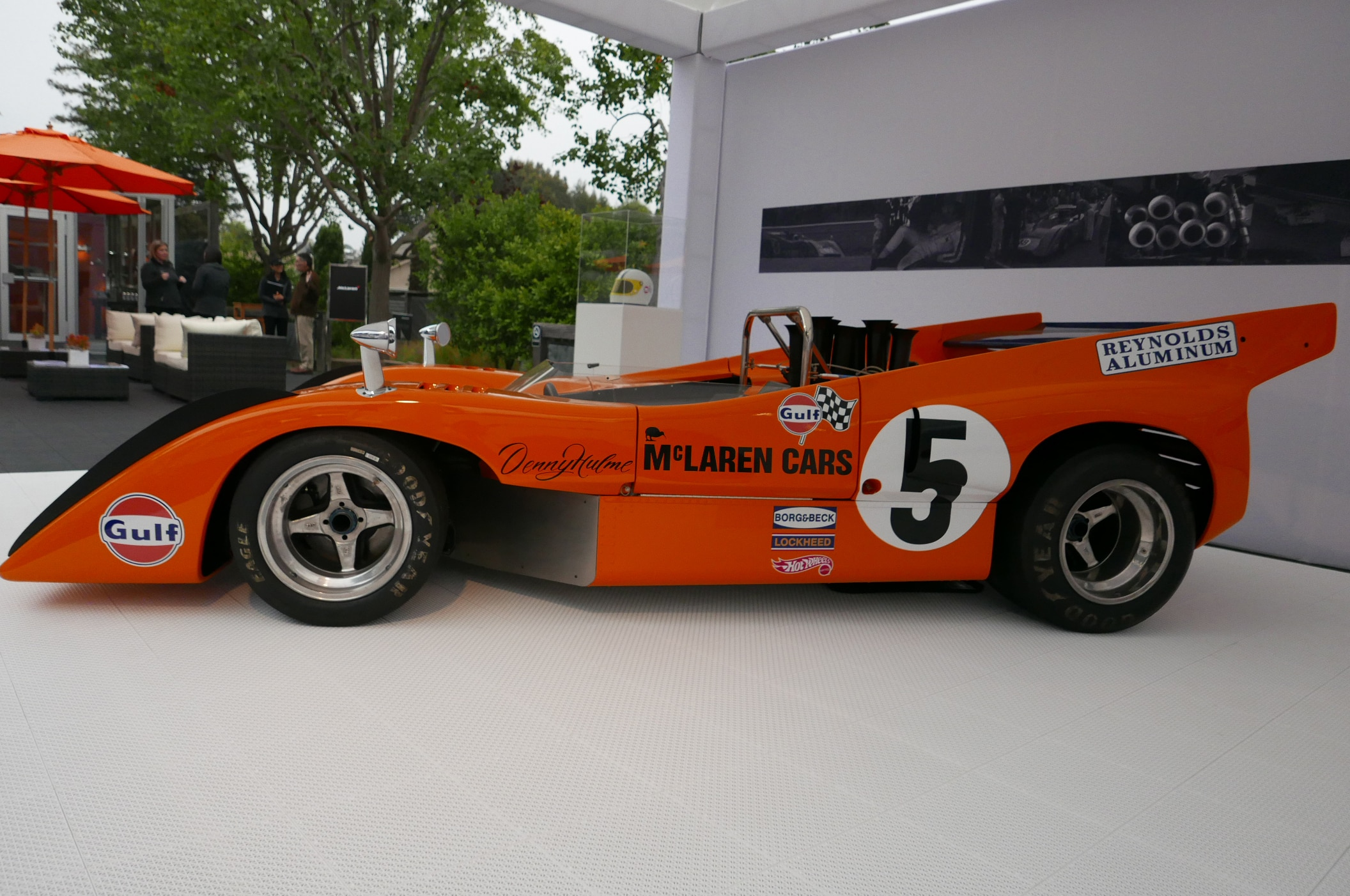 mclaren brings classic race cars to pebble beach automobile magazine. Black Bedroom Furniture Sets. Home Design Ideas