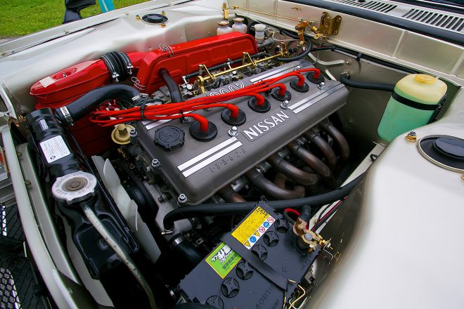 1972 Nissan Skyline GT R Gooding and Co engine