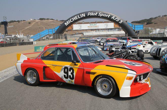 1975 BMW Art Car Alexander Calder 2016 Monterey Motorsports Reunion