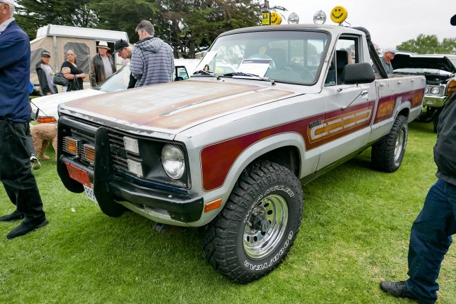 1976 Ford Courier 2016 Concours dLemons Front Three Quarter