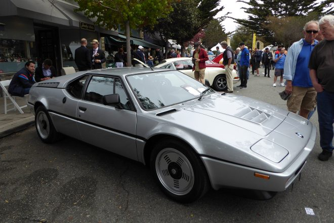 1981 BMW M1 2016 concours on the avenue