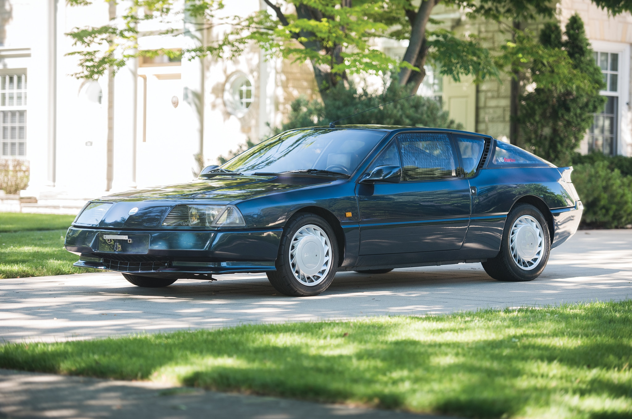 1990 Renault Alpine Turbo RM Sothebys Front Three Quarters