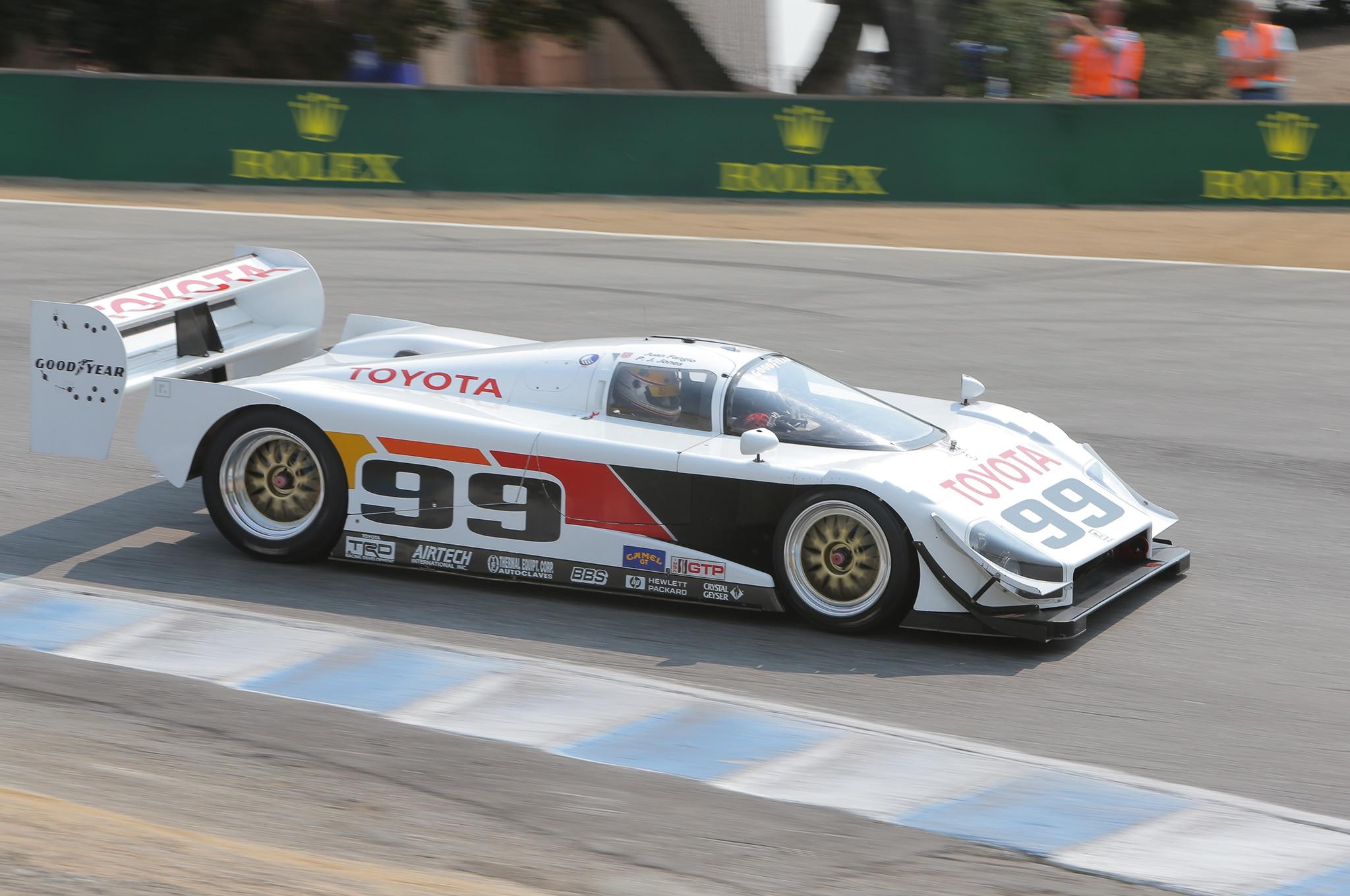1991 AAR Toyota Eagle MkIII GTP 2016 Monterey Motorsports Reunion