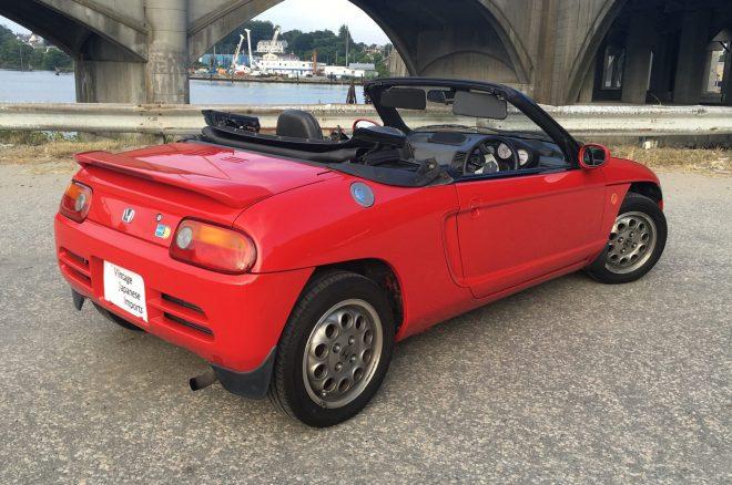 1991 Honda Beat BAT rear three quarters