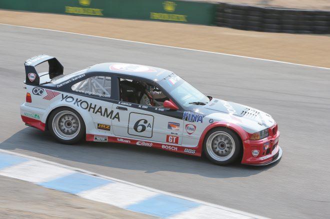 1996 BMW M3 GT2 2016 Monterey Motorsports Reunion