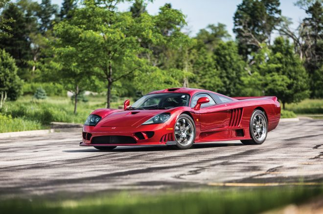 2006 Saleen S7 Twin Turbo RM Sothebys front three quarters