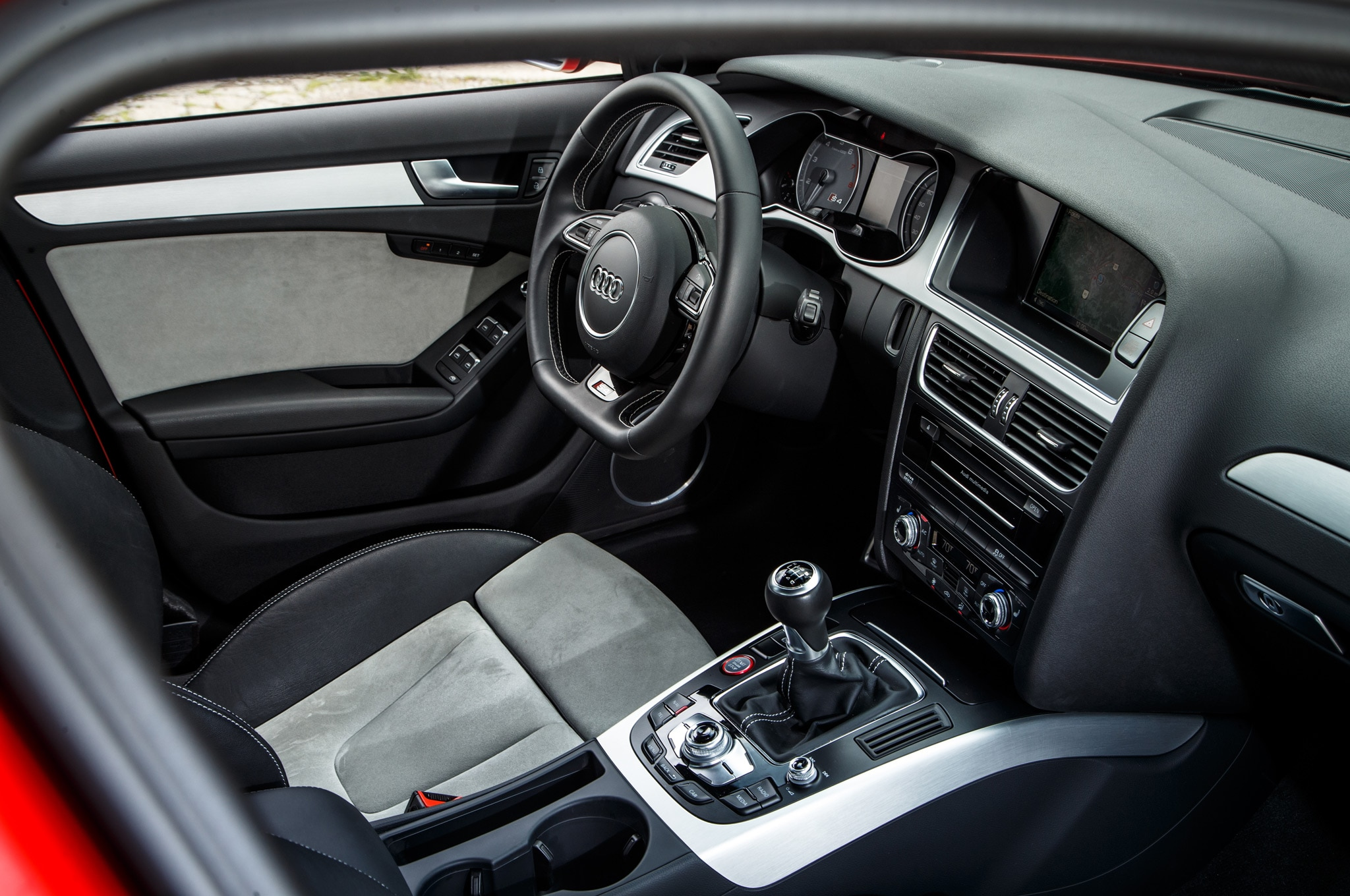proper sendoff driving the final audi s4 offered with a manual transmission automobile magazine. Black Bedroom Furniture Sets. Home Design Ideas