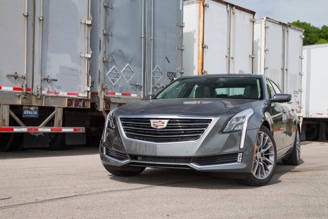 2016 Cadillac CT6 2 0T front end