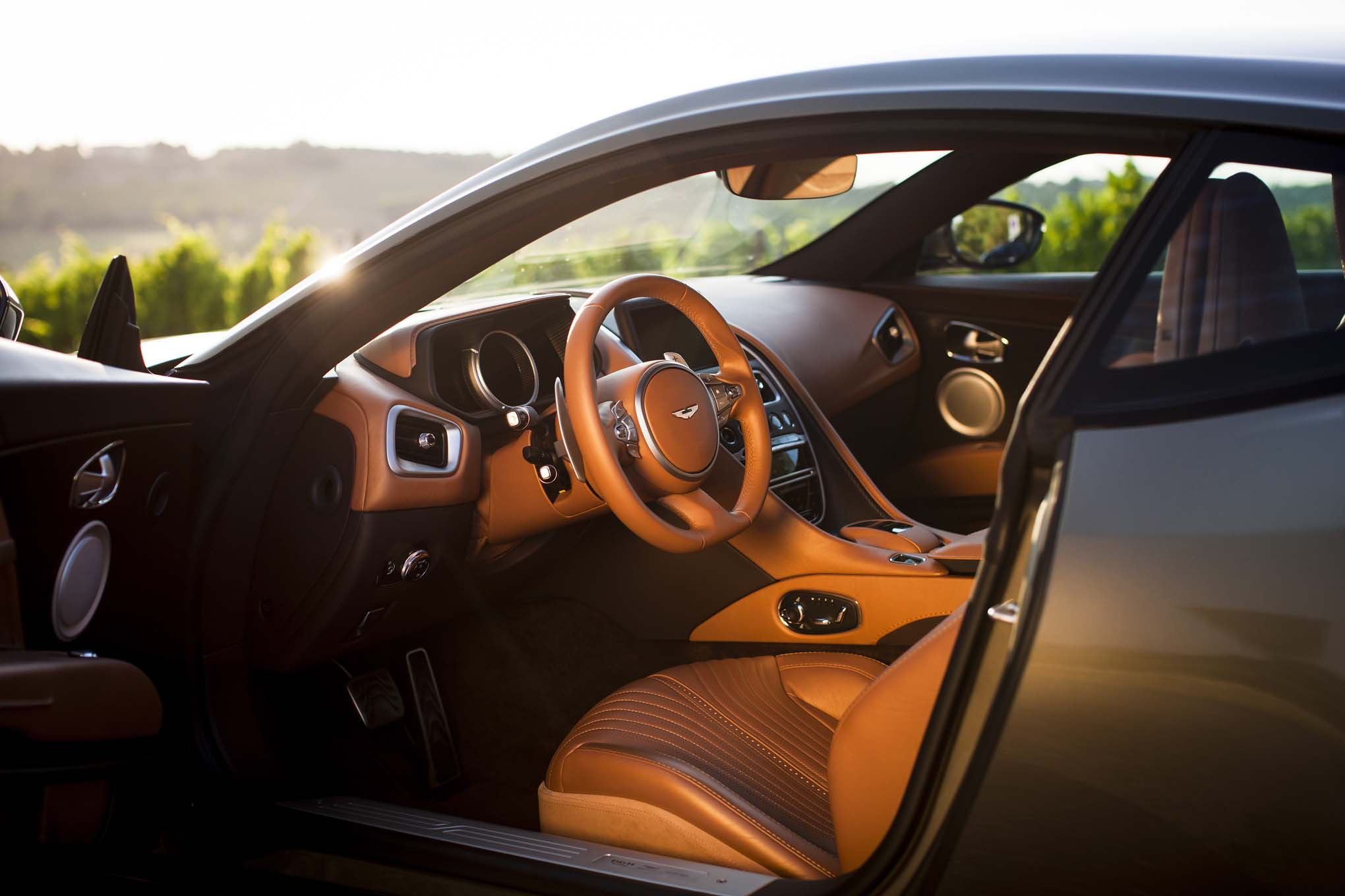 2017 Aston Martin DB11 interior view | Automobile Magazine
