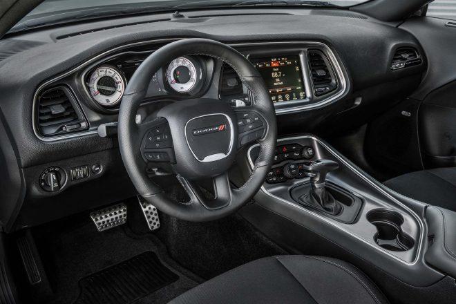 2017 Dodge Challenger TA interior