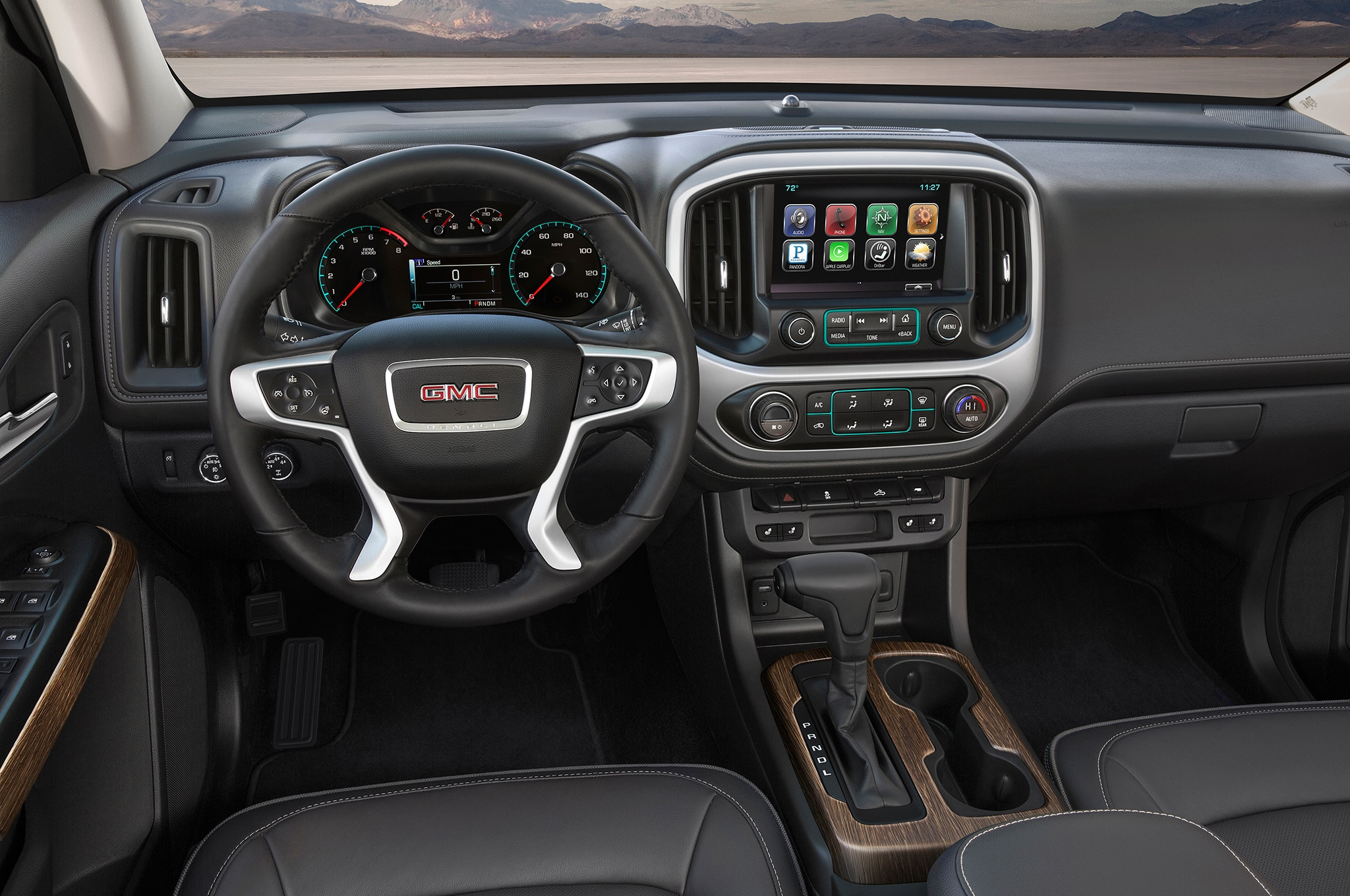 2017 GMC Canyon Gets Eight-Speed Auto, New All Terrain X trim