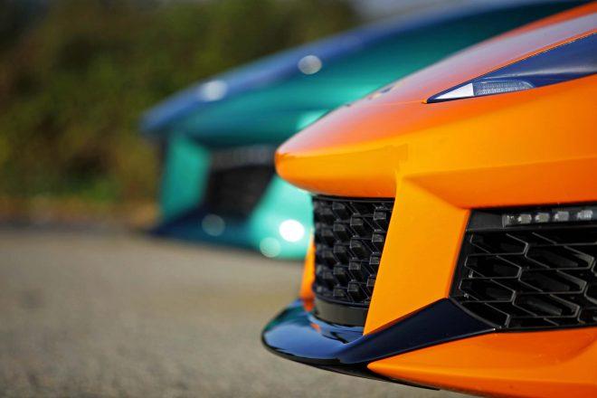 2017 Lotus Evora 400 front lip