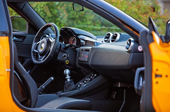 2017 Lotus Evora 400 interior view 02