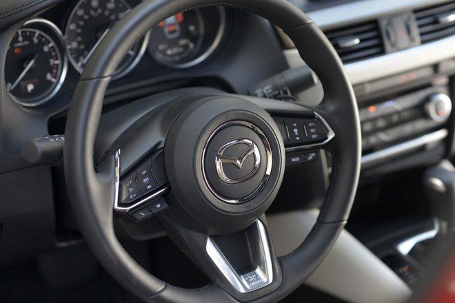 2017 Mazda6 steering wheel 1