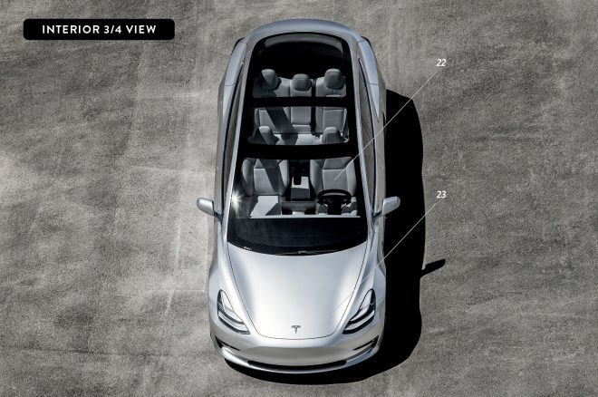 By design tesla model 3 automobile magazine for Tesla model 3 interieur