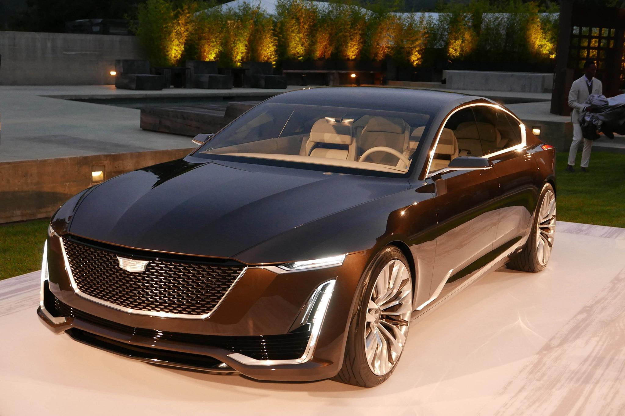 Cadillac Escala Concept Front Three Quarter 2