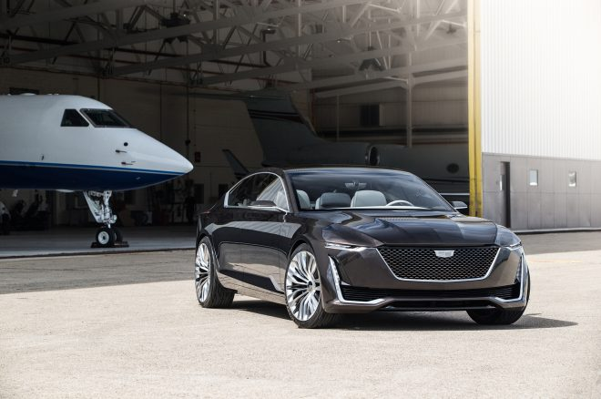 Cadillac Escala concept front end three quarter 2