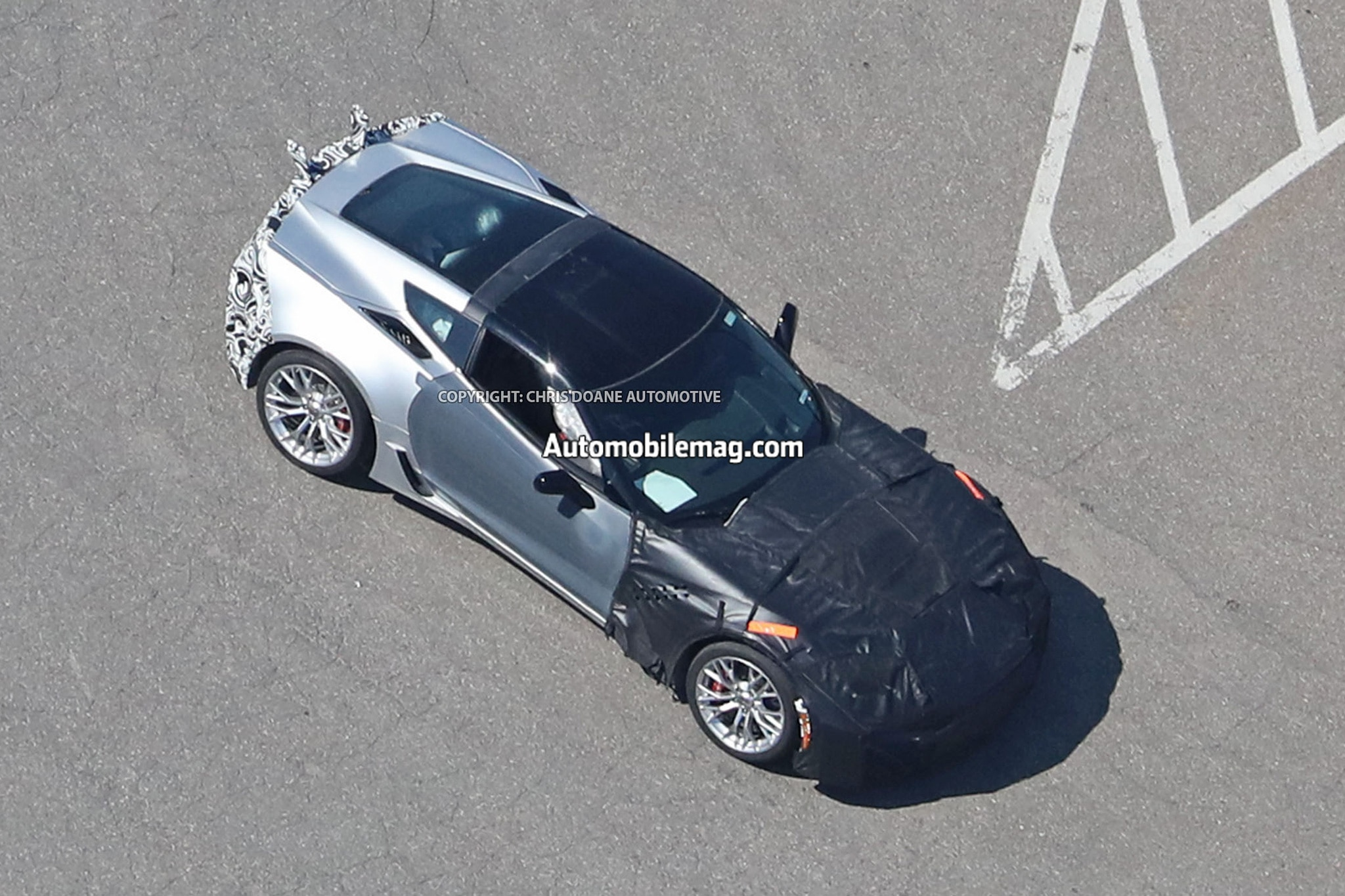 Chevrolet Corvette ZR1 Prototype Spied Photos 43