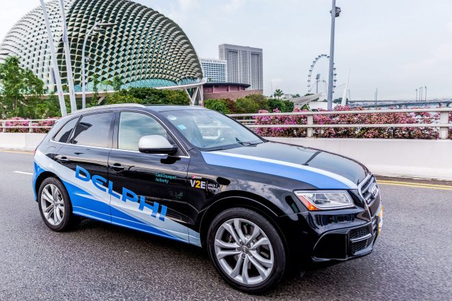 Delphi Launches Autonomous Mobility on Demand Program in Singapore