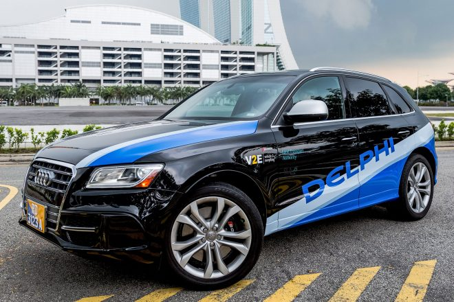 Delphi Singapore automated vehicles 04