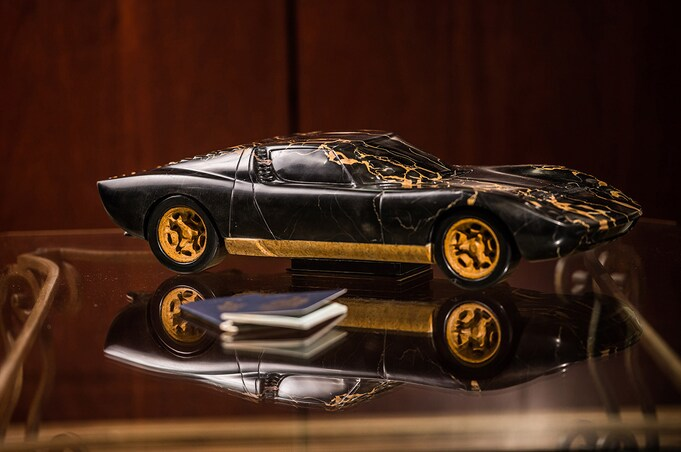 Kellen Silverthorn Sculpture Lamborghini Miura