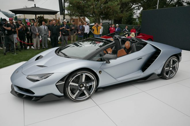 Lamborghini's Centenario Roadster Starts at $2.4 Million