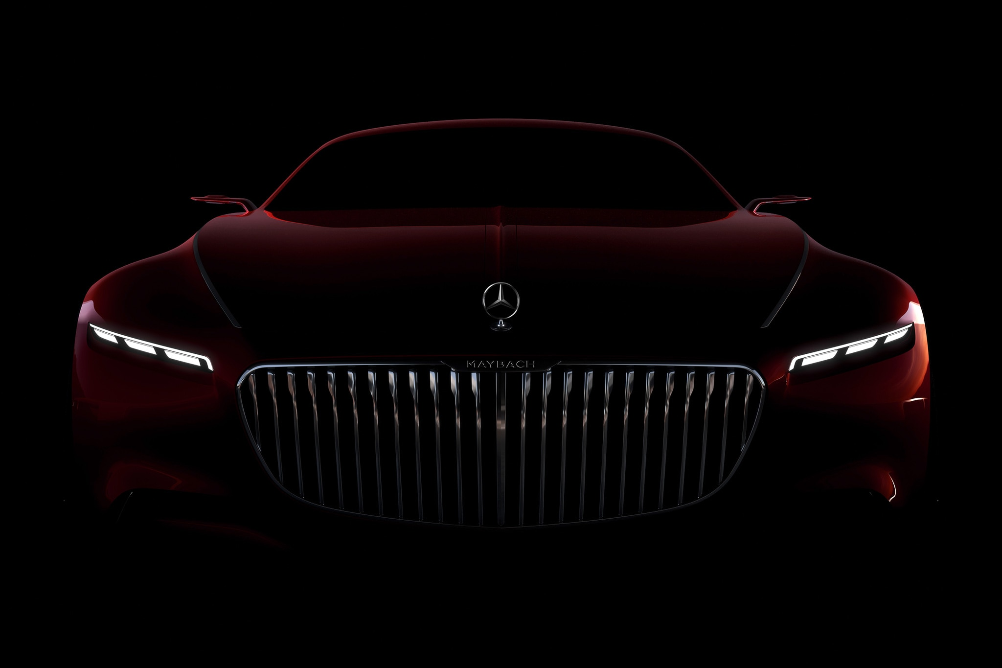 Mercedes Maybach Concept Is Really Really Long Vision Mercedes-Maybach 6 Concept Stuns at Pebble Beach   Automobile ...