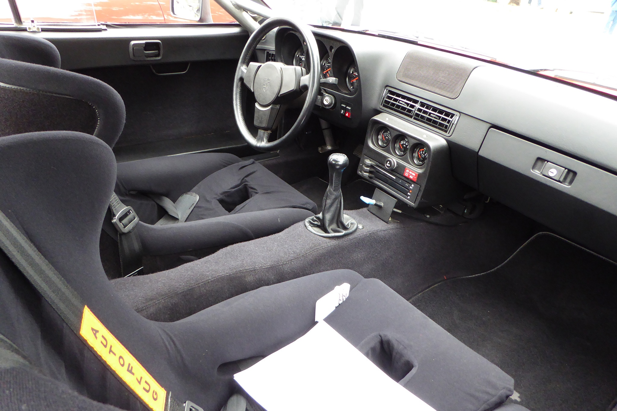 Porsche 924 Interieur Of Pebble Beach Concours D 39 Elegance Automobile