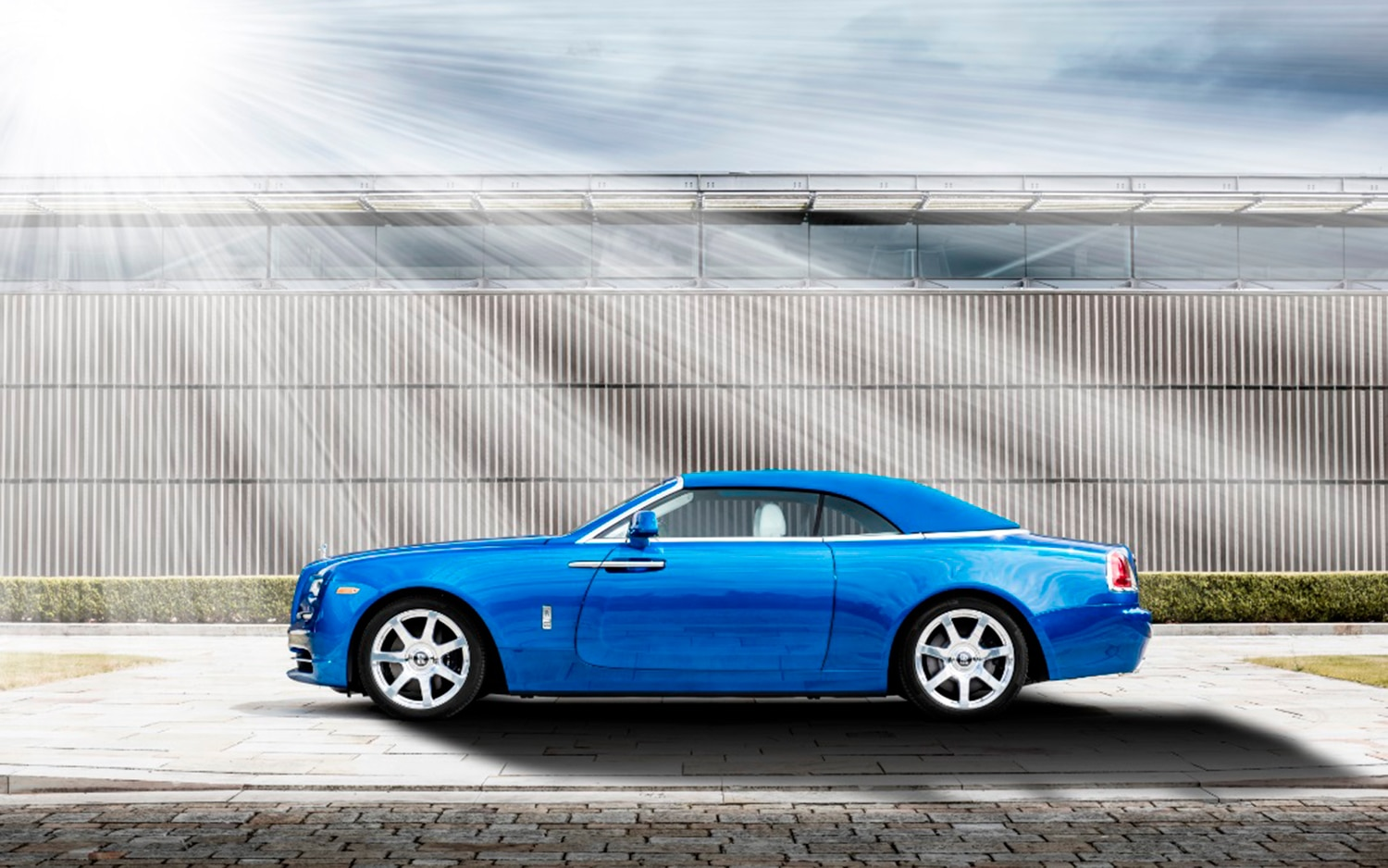 Rolls Royce Debuts A Bespoke Dawn In A Gorgeous Shade Of