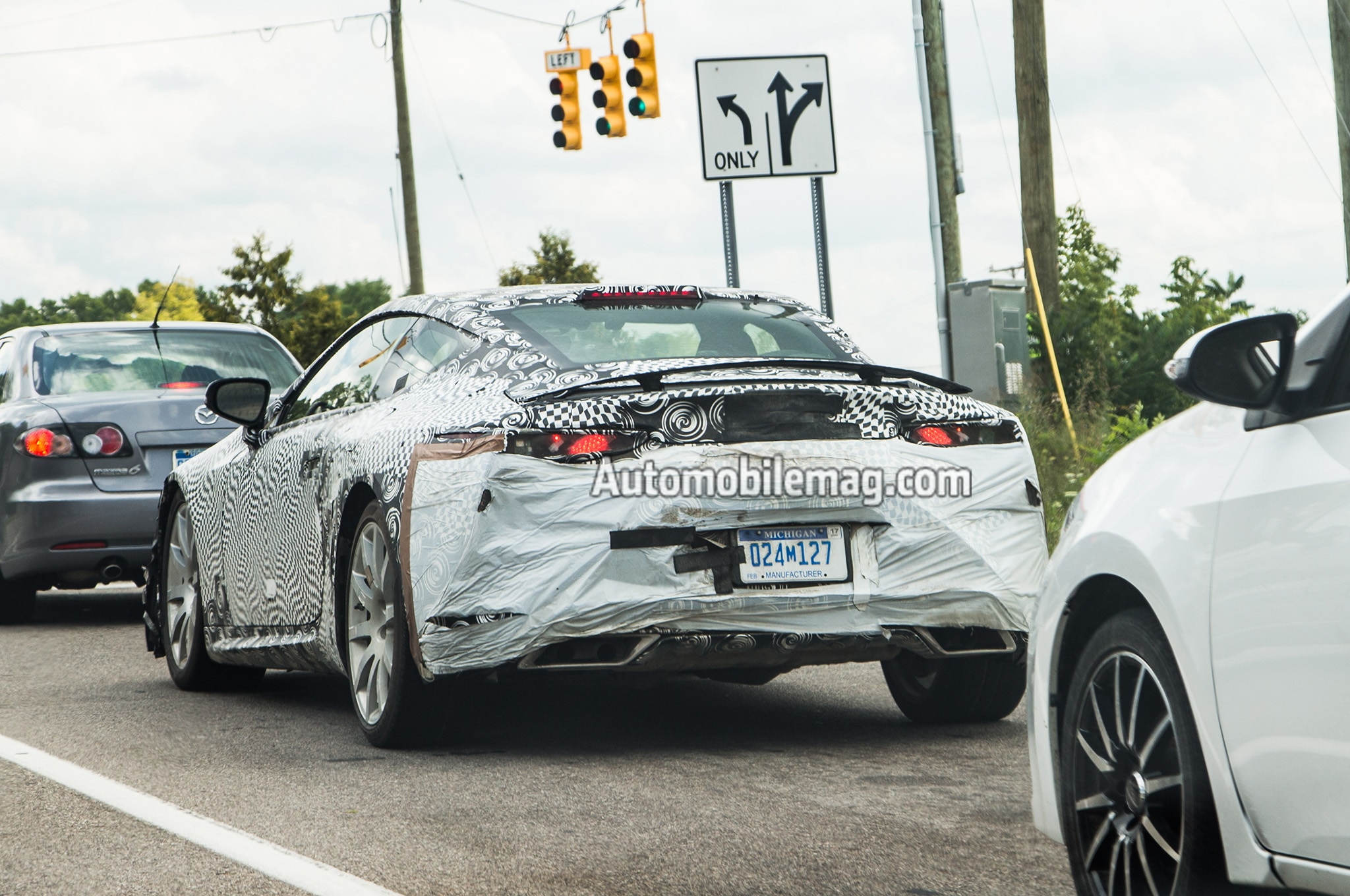 2016 Toyota Supra Spied