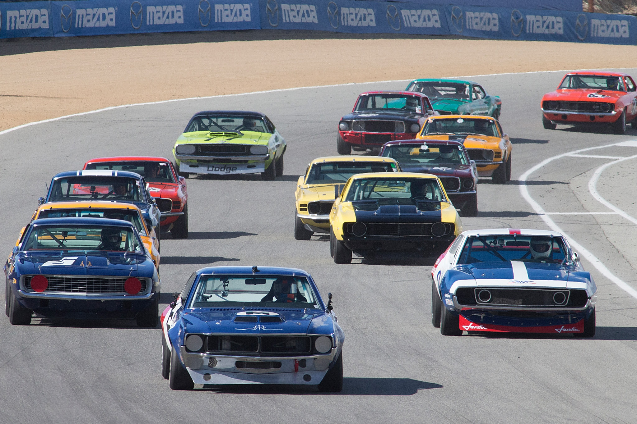 Trans Am Start Monterey Motorsports Reunion