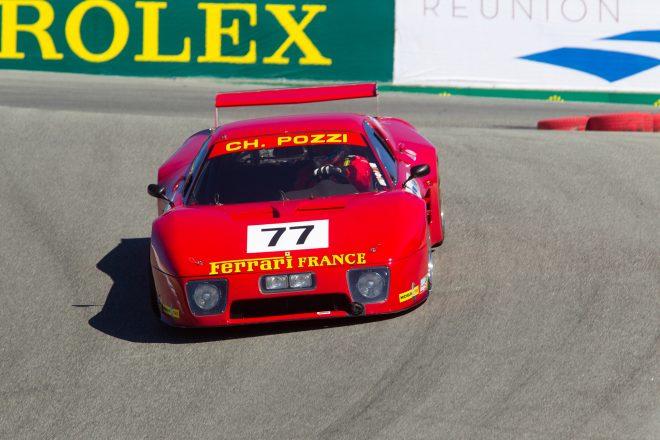 ferrari 512bb lm race car monterey motorsports reunion