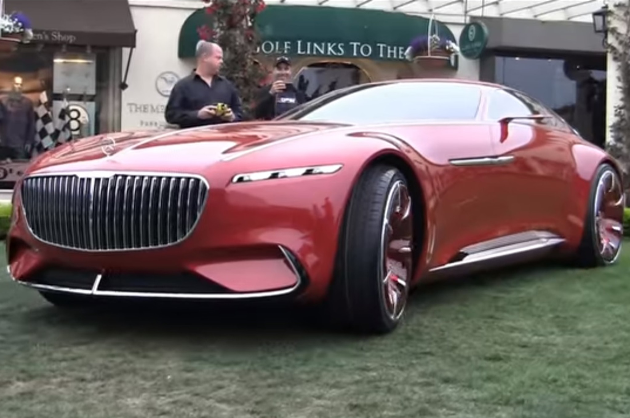 Mercedes Maybach 6 Concept Remote Control