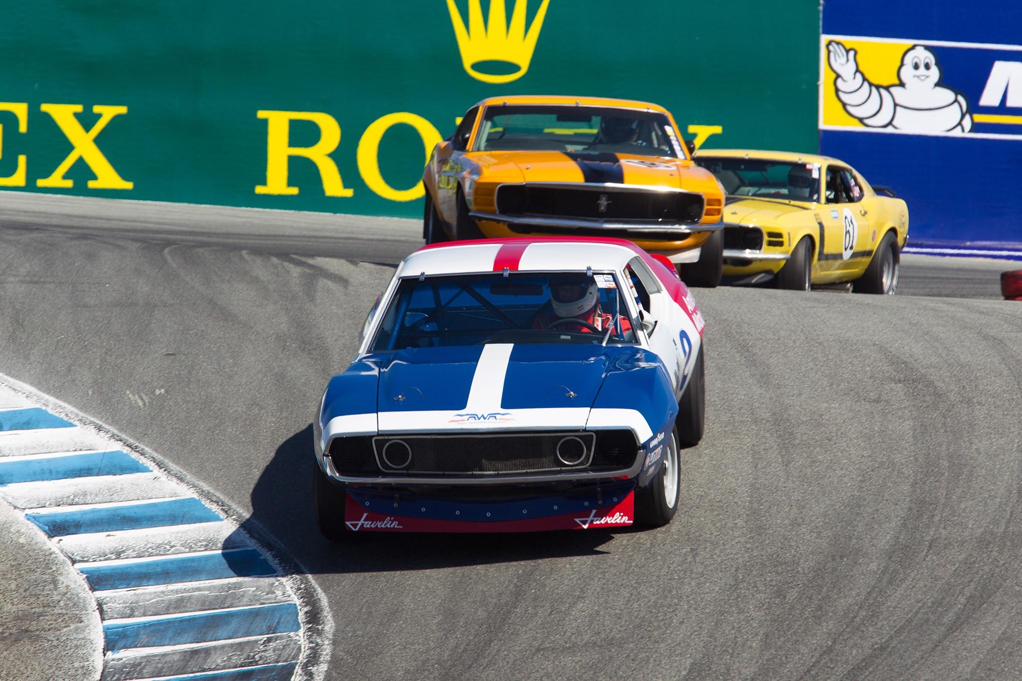 Trans Am Cars Monterey Motorsports Reunion