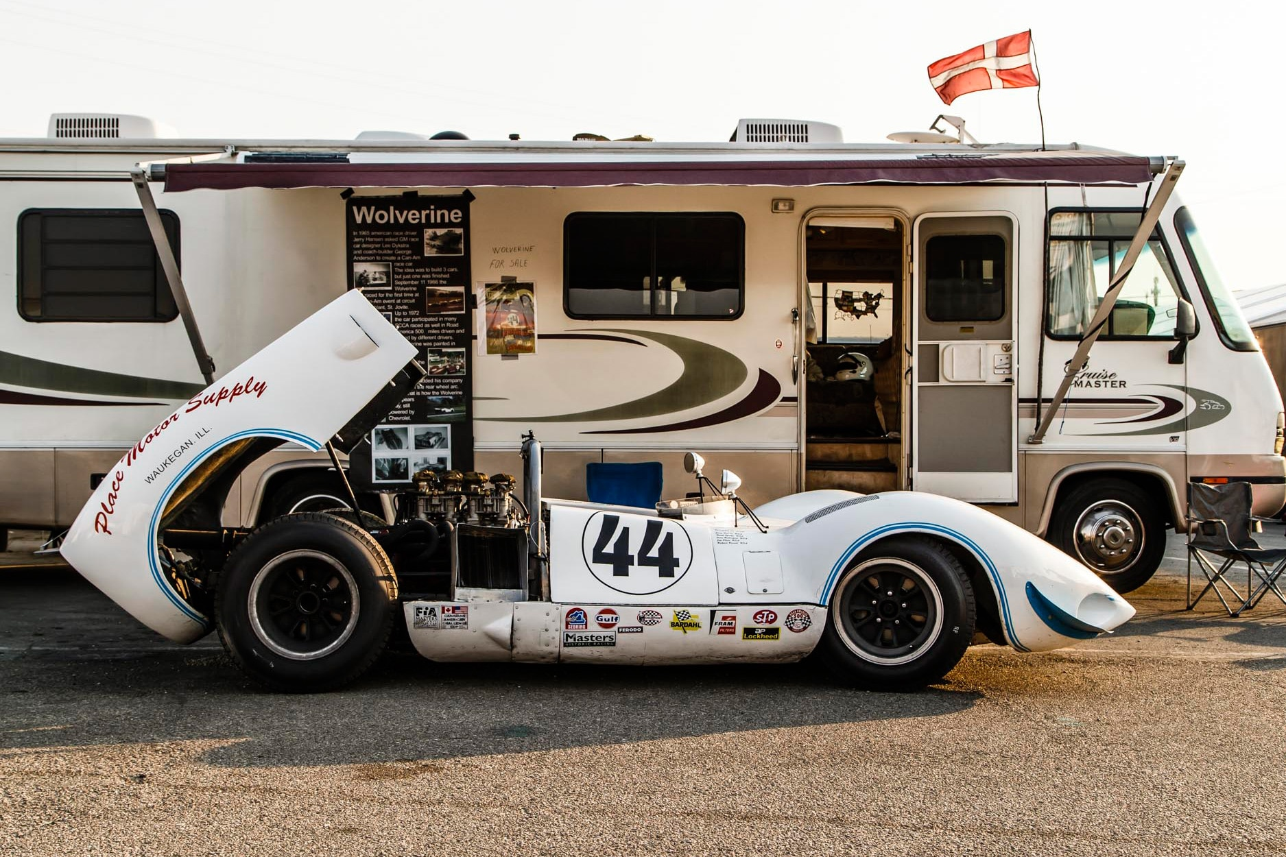 A Brief History of the 1966 Wolverine Can Am Race Car